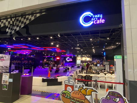 Crazy Cart Cafe  |  全台唯一雙層甩尾主題餐廳ㄟ