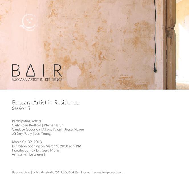 BAIR - Buccara Artist in Residence