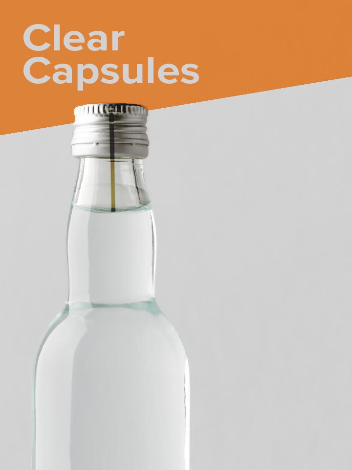 Clear PVC Capsules