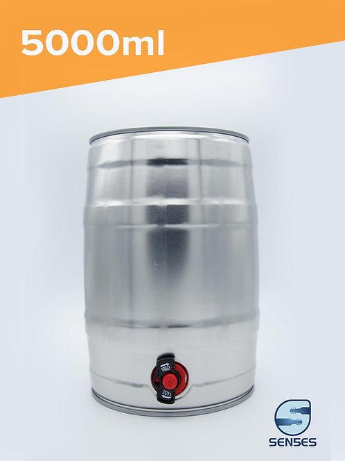 5000ml Mini Homebrew Keg