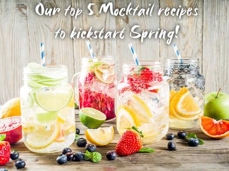 5 Mocktail Recipes to Kickstart Spring