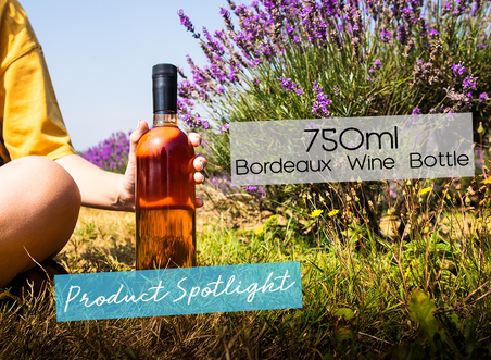 Product Spotlight: The 750ml Bordeaux Wine Bottle