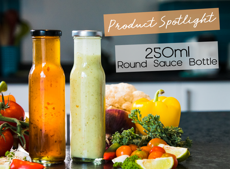 Product Spotlight: The 250ml Round Sauce Bottle