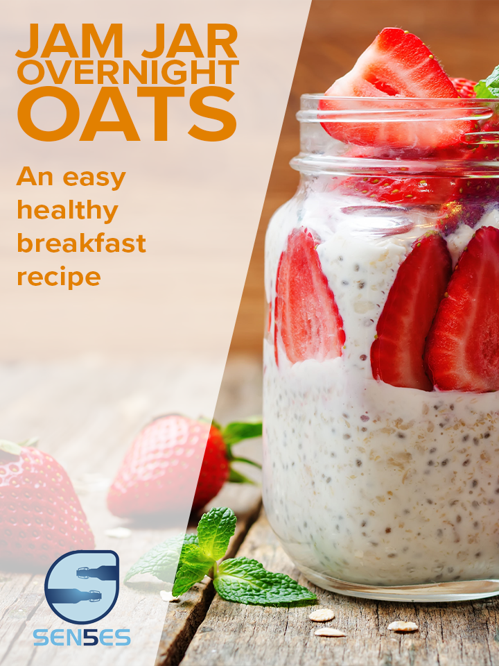 Jam Jar Overnight Oats Pinterest