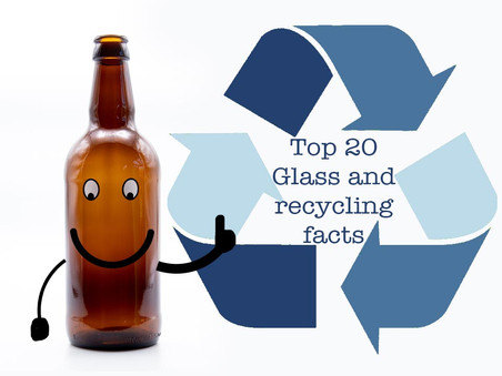 20 Fun facts about glass and recycling