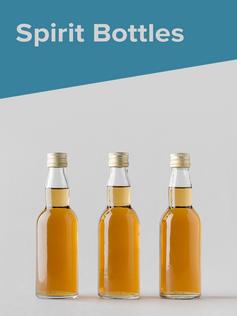 Shop Glass Spirit Bottles