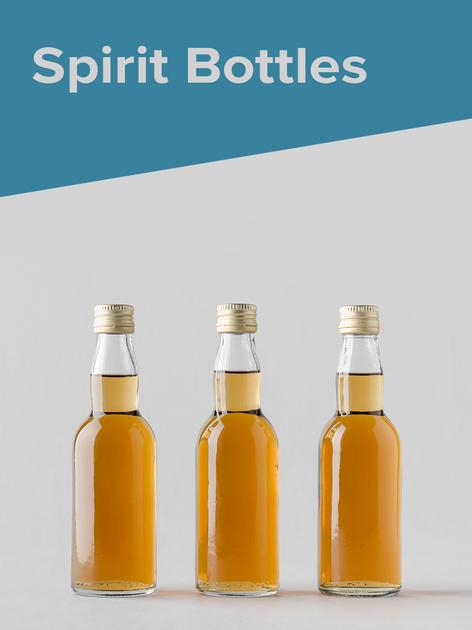 Glass Spirit Bottles