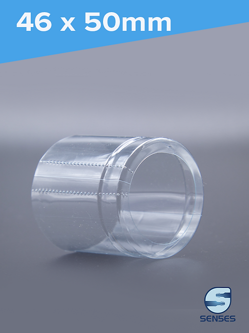 46 x 50mm Clear Shrink Capsule