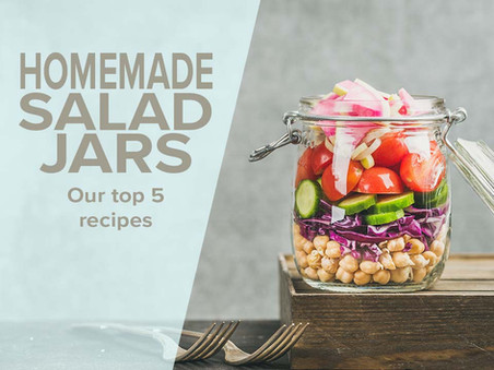 Healthy recipe: Homemade Salad Jars
