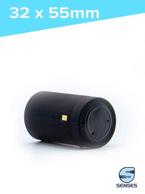 32 x 55mm Black Heat Shrink Capsules