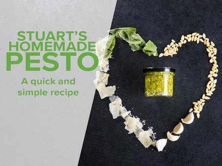 Healthy recipe: Stuart's homemade pesto