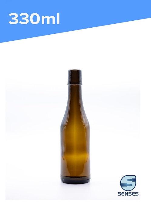 330ml Swingtop Amber Beer Bottle