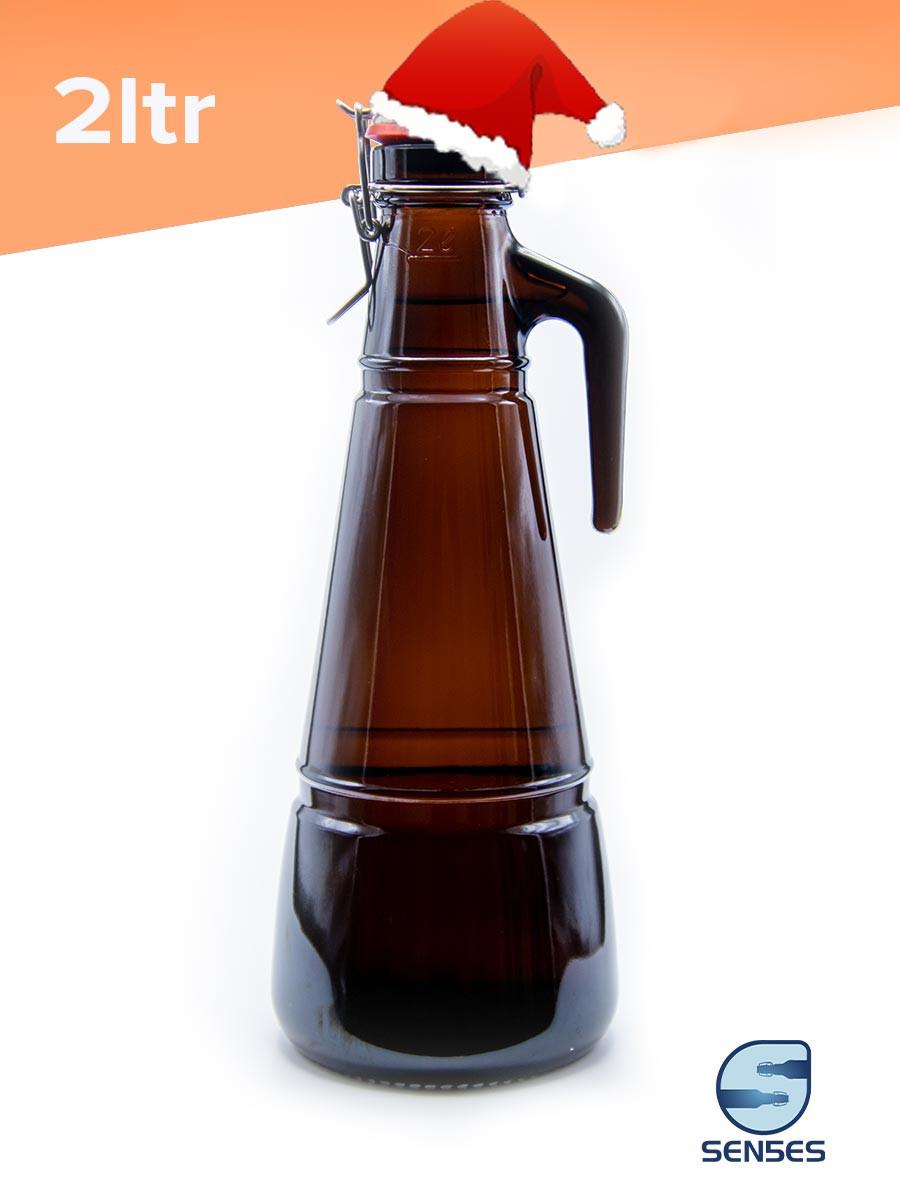 2ltr growler beer bottle