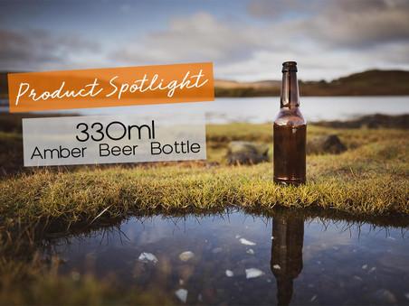 Product Spotlight: 330ml Amber Beer Bottle