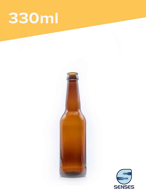 330ml Amber glass beer bottle