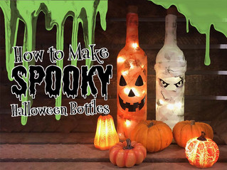 How to Make Spooky Halloween Bottles!