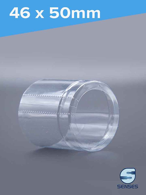 46 x 50mm Clear Shrink Capsule side