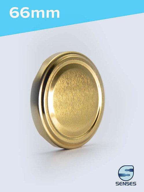 66mm Twist Off Jar Cap gold