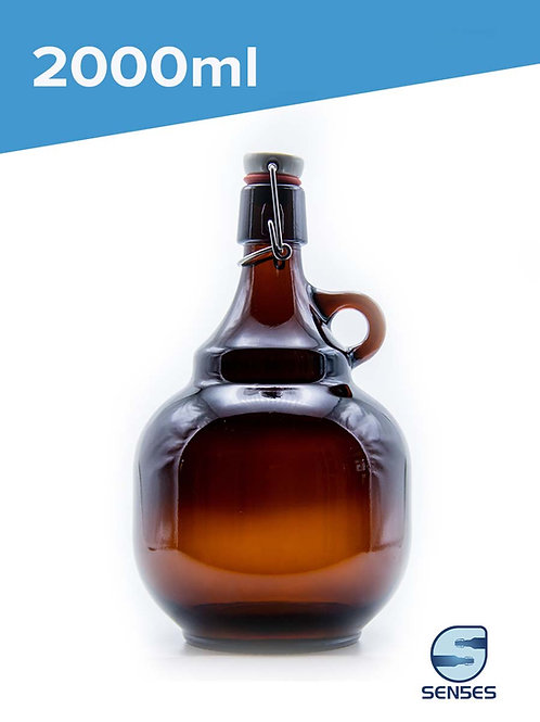 2000ml Palla growler beer bottle