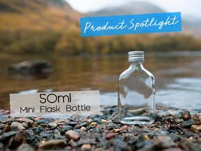Product spotlight: 50ml Mini Flask Bottle