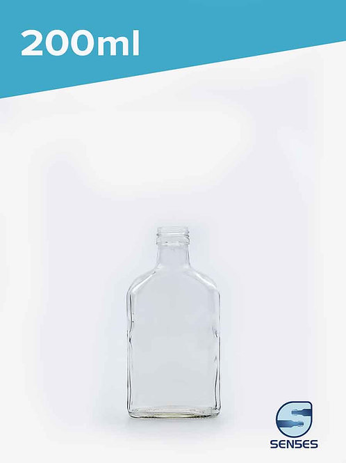 200ml flask spirit bottle