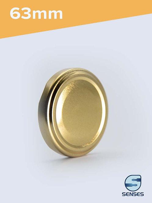 63mm Twist Off Jar Cap gold