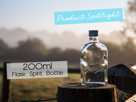 Product Spotlight: The 200ml Flask Spirit Bottle