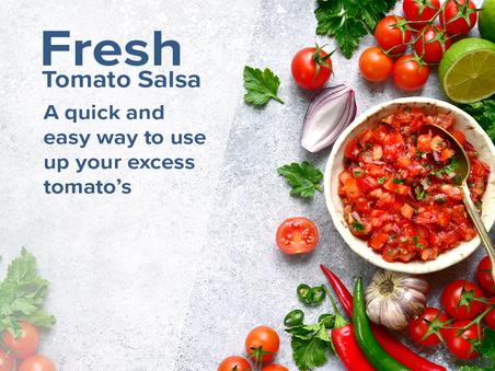 Healthy Recipe: Fresh tomato salsa
