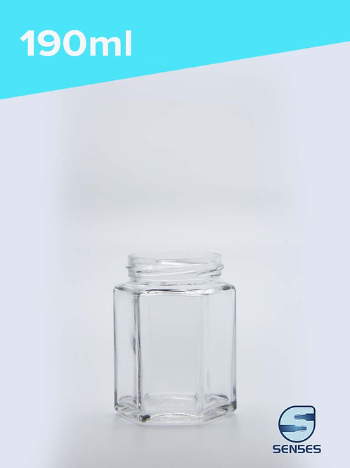 190ml hexagonal jar