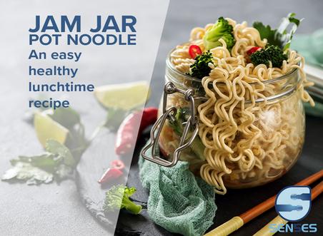 Healthy Recipe: Jam Jar Pot Noodles