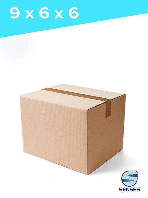 "9"" x 6"" x 6"" Single Wall Cardboard Box"