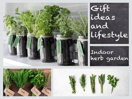 Gift ideas and lifestyle: Indoor herb garden