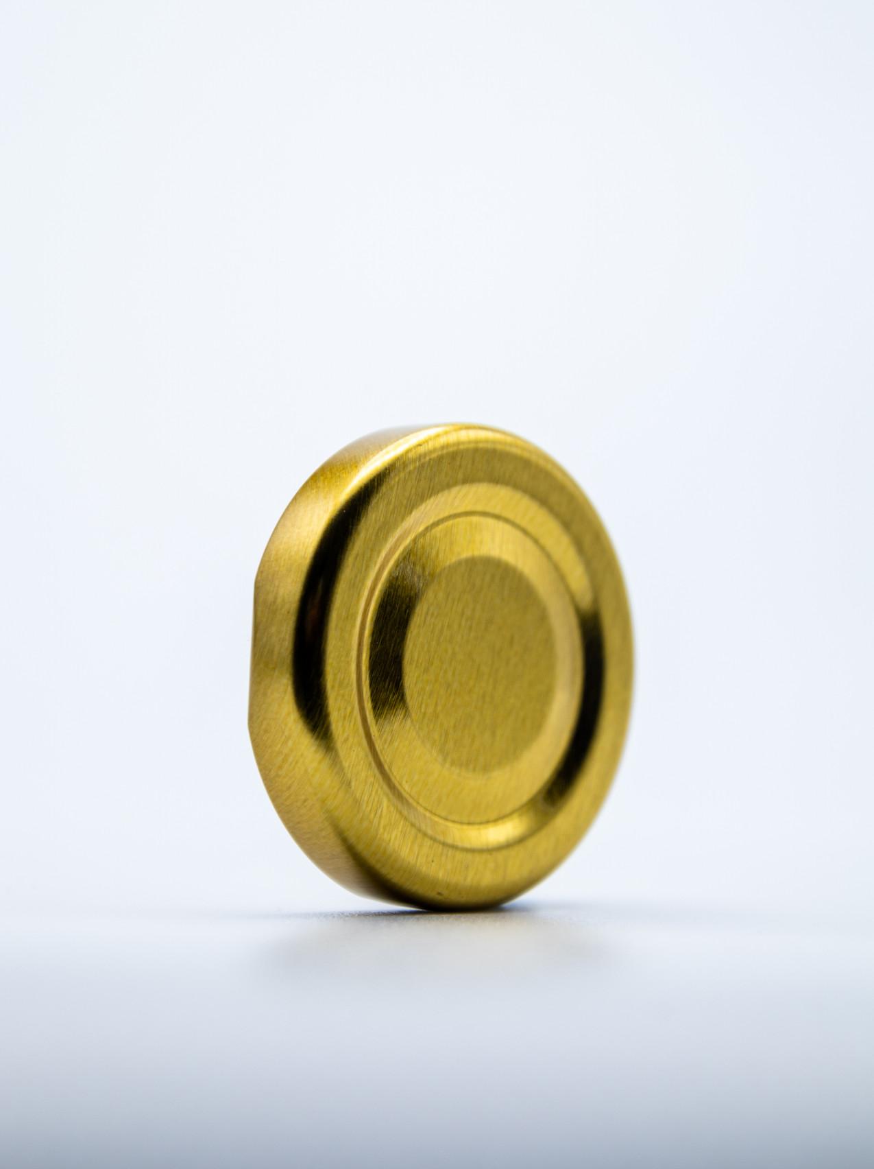 The 43mm Gold Cap