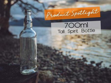 Product Spotlight: 700ml Tall Spirit Bottle