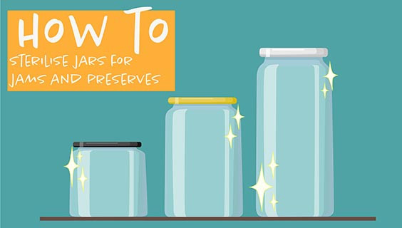 Three ways to sterilise canning jars before use