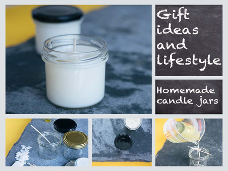 How to make candle jar gifts
