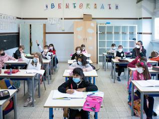 Scuola COVID fase 2 II elementare F. Aporti-Roma