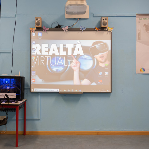 Scuola-Mixed Virtual Reality