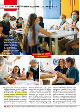 OGGI-La scuola in ospedale