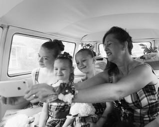 Selfie in the Van
