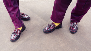 Loafers, Claret and Amber