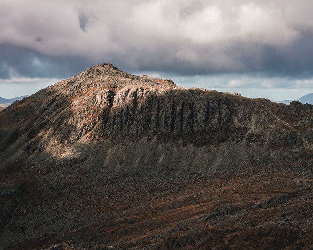 Bowfell from Crinkle Crags, 2019