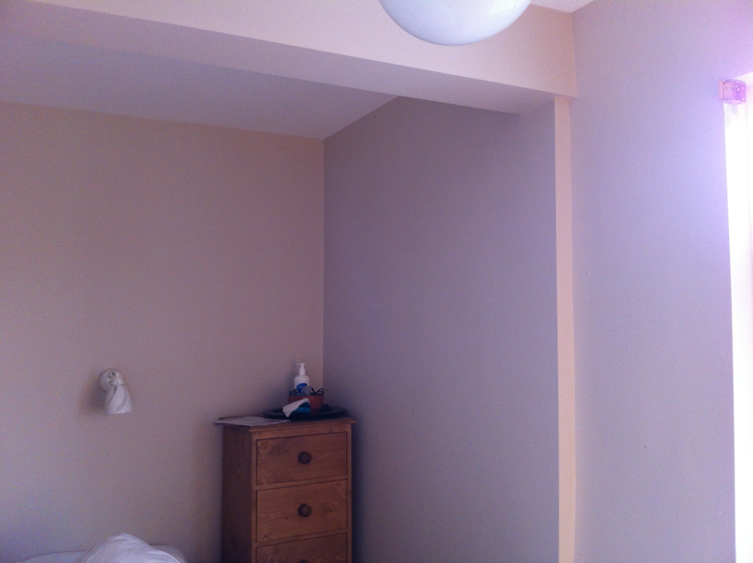 Plastering Bedroom