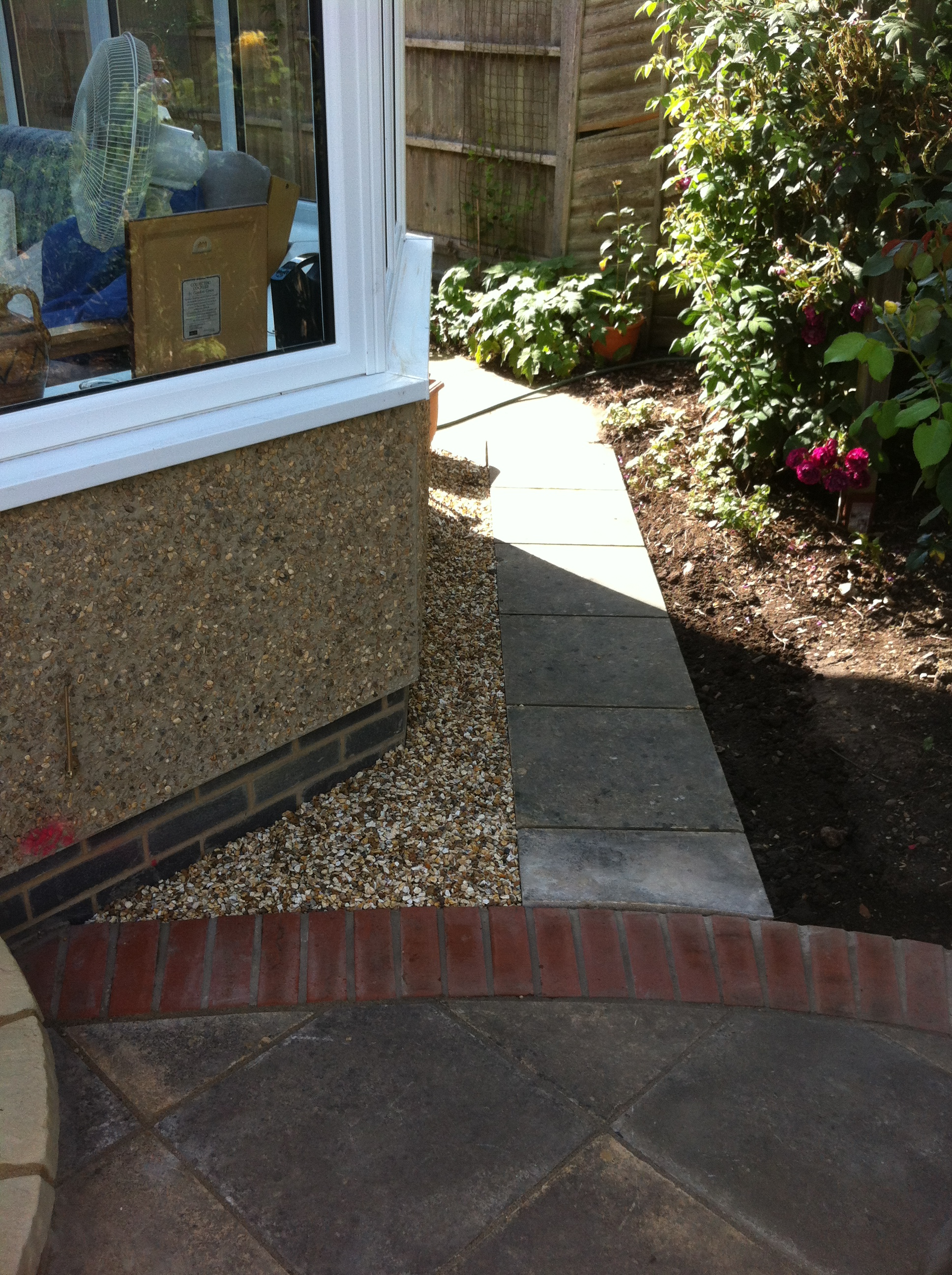 Patio path