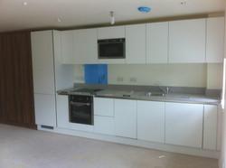 Modern kitchen and wardrobe