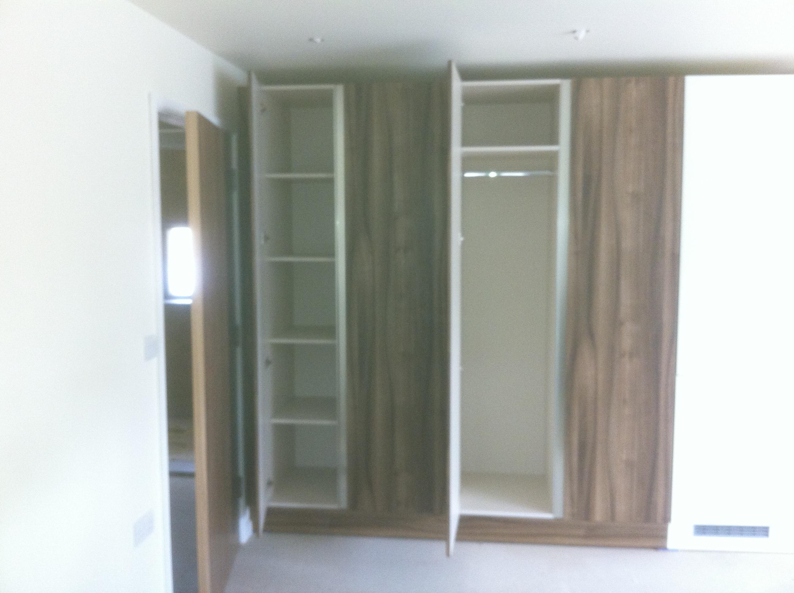 Wardrobe studio flat
