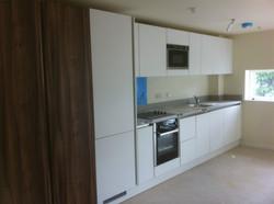 Modern kitchen and wardrobes