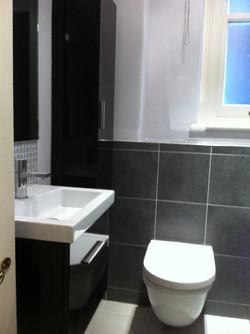 Modern bathroom installation