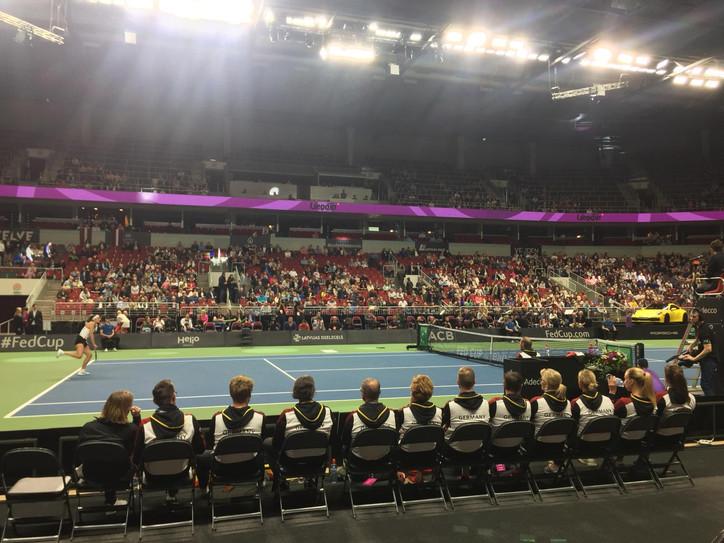 Fed Cup-Relegation der deutschen Tennis-Damen gegen Lettland