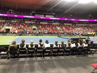 Das Deutsches Fed Cup-Team in Riga